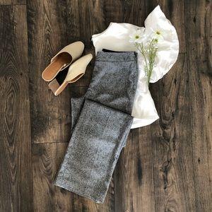 White House Black Market Grey Trousers Pant Bottom